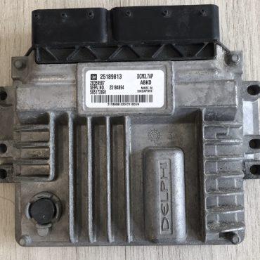 Delphi Engine ECU, Chevrolet Captiva 2.0 D, 25189813, 28359587, 25184894, 595172891, ABKD, DCM3.7AP