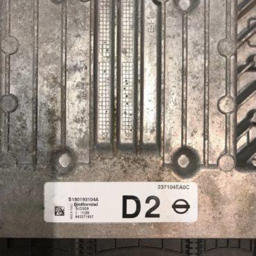 NISSAN QASHQAI 1.5 Diesel, S180193104A, 23710EA0C, D2, SID309