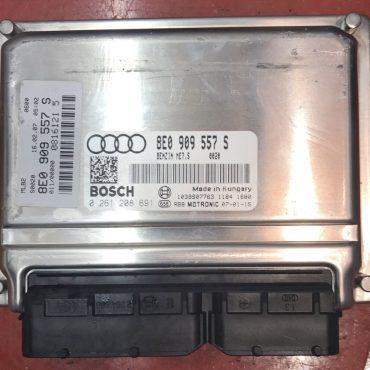 Audi, 0261208691, 0 261 208 691, 8E0909557S, 8E0 909 557 S, 1039S07763, ME7.5