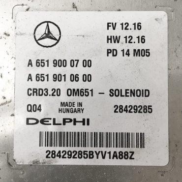 Mercedes-Benz, A6519000700, A 651 900 07 00, A6519010600, A 651 901 06 00, 28429285, CRD3.20, OM651 - SOLENOID