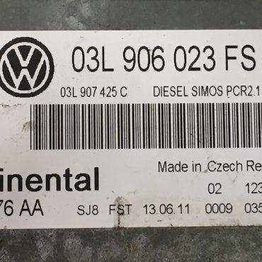 VW, 03L906023FS, 03L 906 023 FS, 5WP42676AA, 5WP42676 AA, DIESEL SIMOS PCR2.1