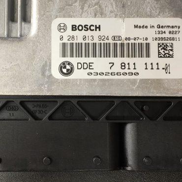 BMW X3 2.0D / xDrive 1.8D 2.0D, 0281013924, 0 281 013 924, DDE7811111, DDE 7 811 111
