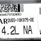 Denso Engine ECU, Jaguar, MB079700-9063, 2W93-10K975-DE, DE, X350 4.2L NA
