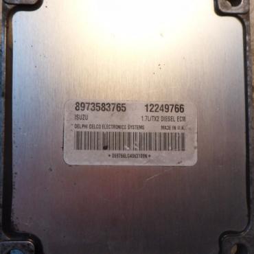 ECM 1.7L/TX2, 1.7 DTI, 12249766, 8973583765