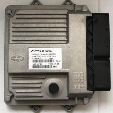 Fiat Punto 1.3 JTD, MJD 6JF.P6, 55192093, 71600.021.03, FGP