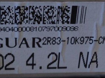 Jaguar, MB079700-9098, 2R83-10K975-CN, X202 4.2L
