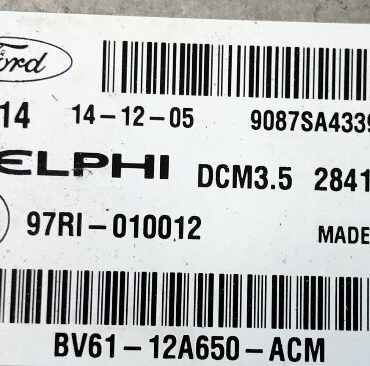 Ford, BV61-12A650-ACM, 28419087, DCM3.5