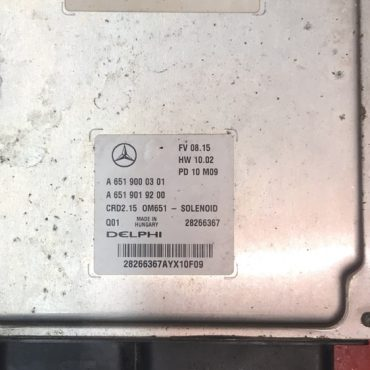 Mercedes-Benz, A6519000301, A6519019200, 28266367, CRD2.15, OM651 - SOLENOID