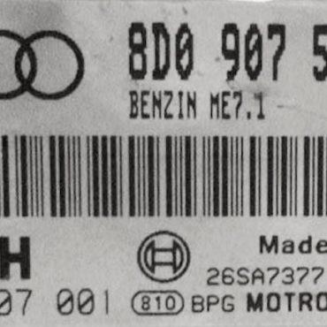 Audi, 0261207001, 0 261 207 001, 8D0907551K, 8D0 907 551 K, ME7.1