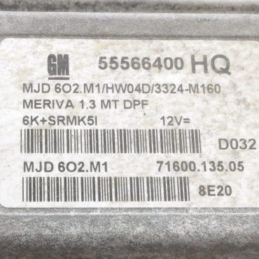 MJD 6O2.M1, HW04D, 55566400, 71600.135.05