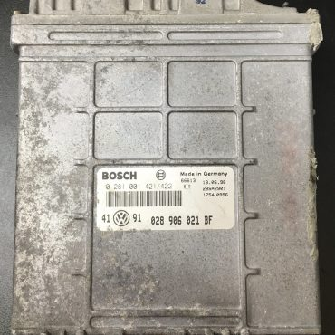 VW Golf III 1.9 TDI, 0281001421/422, 0 281 001 421 / 422, 028906021FB, 028 906 021 BF