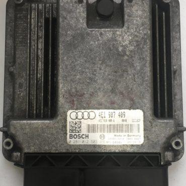 Audi A8 4.2 TDI Quattro, 0281012503, 0 281 012 503, 4E1907409, 4E1 907 409, EDC16CP