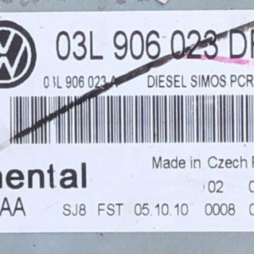 VW, 03L906023DR, 03L 906 023 DR, 5WP42637AA, 5WP42637 AA, DIESEL SIMOS PCR2.1