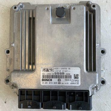 Bosch Engine ECU, Land Rover Freelander 2 SD4, 2 eD4, 0281016026, 0 281 016 026, AG91-12A650-SB, 1039S34139, SSSB