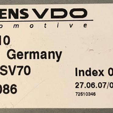 BMW, DME MSV70, 7571510, 7 571 510, 5WK98086, Index 03