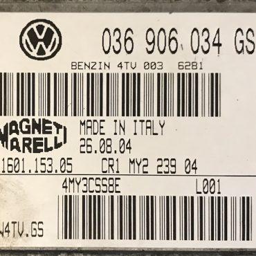 VW, Benzin 4TV, 036906034GS, 036 906 034 GS, 61601.153.05, IAW4TV.GS