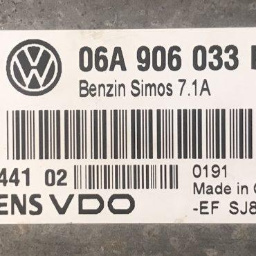 VW, Simos 7.1A, 06A906033EP, 06A 906 033 EP, 5WP40441 02