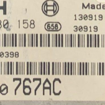 Bosch Engine ECU, Chrysler, 0281030158, 0 281 030 158, P05150767AC, P05150 767AC, 1039S62605