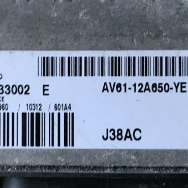 Ford C Max 1.6 TDCi, S180133002E, S180133002 E, AV61-12A650-YE, J38AC, SID 807 EVO