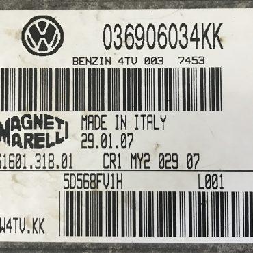 VW, Benzin 4TV, 036906034KK, 036 906 034 KK, 61601.318.01, IAW4TV.KK