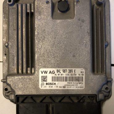 VW / Audi, 0281030170, 0 281 030 170, 04L907309K, 04L 907 309 K, EDC17C64, 1039S65335