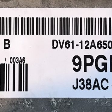 Ford Focus 1.6, 9PGB, DV61-12A650-BBB, EMS2204, J38AC, S180127033B, S180127033 B
