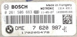 BMW Mini, 0261S06663, 0 261 S06 663, DME7620987, DME 7 620 987