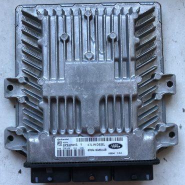 Siemens VDO Engine ECU, Land Rover 2.7L V6 Diesel, 5WS40621E-T, 8H2Q-12A650-AB, SID204