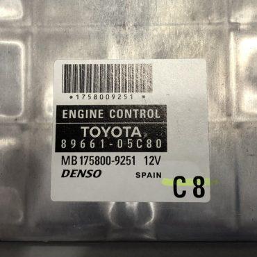 Toyota, 89661-05C80, MB175800-9251, 12V