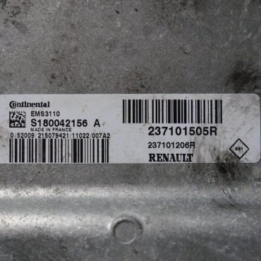 Renault, S180042156A, S180042156 A, 237101505R, 237101206R, EMS3110