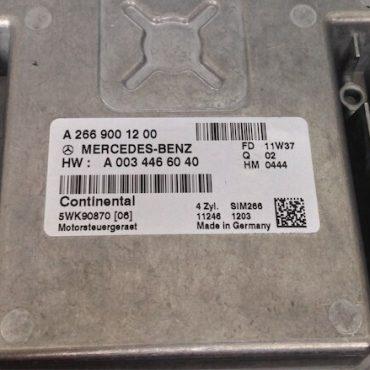 Mercedes-Benz, SIM266, A2669001200, A 266 900 12 00, HW: A0034466040, HW: A 003 446 60 40, 5WK90870 06