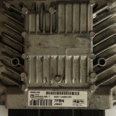 Ford, SID206, 5WS40416M-T, 6G91-12A650-MN, 7FBN, J38AC