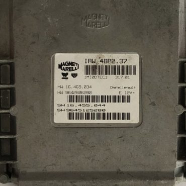 Magneti Marelli IAW 48P2.37, HW 16.469.034, HW 9642606280, SW 16.455.044, SW 9645125280