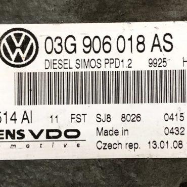 VW, 5WP45514AI, 5WP45514 AI, 03G906018AS, 03G 906 018 AS, PPD1.2