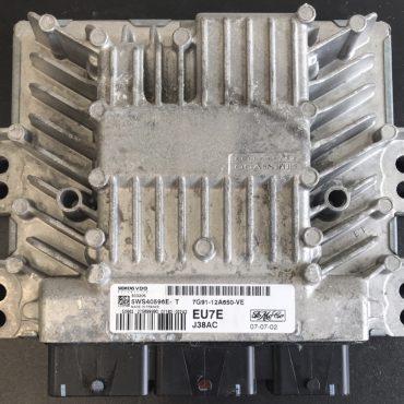 Ford TDCI, SID206, 5WS40596E-T, 7G91-12A650-VE, EU7E