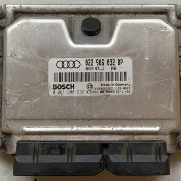 Audi, 0261208232, 0 261 208 232, 022906032DP, 022 906 032 DP, ME7.1.1