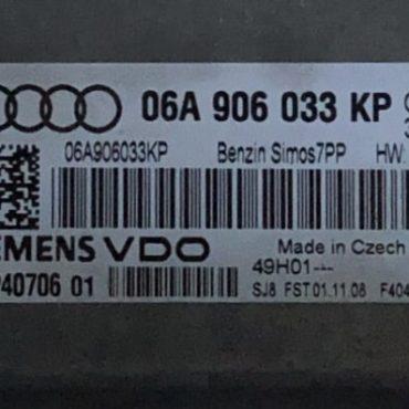 Audi, 06A906033KP, 06A 906 033 KP, 5WP40706 01, SIMOS 7PP