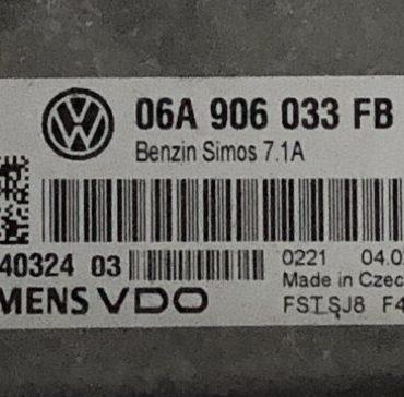 VW, Simos 7.1A, 06A906033FB, 06A 906 033 FB, 5WP4032403, 5WP40324 03