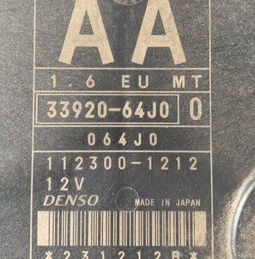 33920-64J0, 112300-1212, AA