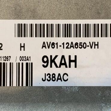 Ford, 9KAH, AV61-12A650-VH, EMS2204, J38AC, S180127002H, S180127002 H