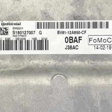 Ford, 0BAF, BV61-12A650-CF, EMS2204, J38AC, S180127007G, S180127007G