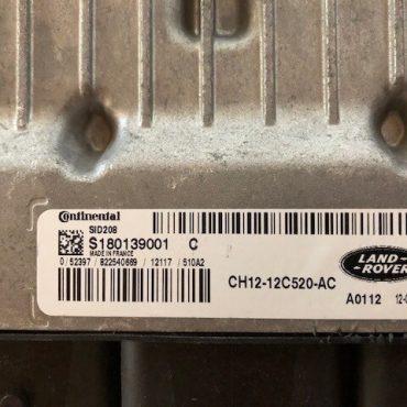 Land Rover, S180139001 C, CH12-12C520-AC, SID208
