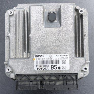 Toyota Yaris 1.4 D-4D, 0281017134, 0 281 017 134, 89661-0DG50, B5