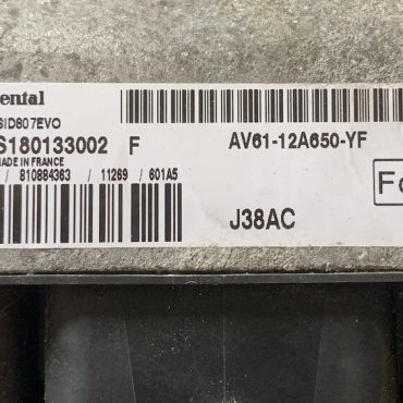 Ford, S180133002F, S180133002 F, AV61-12A650-YF, J38AC, SID 807 EVO