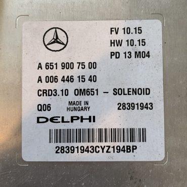 Mercedes-Benz, A6519007500, A 651 900 75 00, A0064461540, A 006 446 15 40, 28391943, CRD3.10, OM651 - SOLENOID