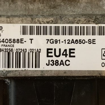 Ford S Max, SID 206, 5WS40588E-T, 7G91-12A650-SE, EU4E
