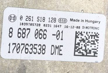 BMW, 0261S18128, 0 261 S18 128, 8687066, 8 687 066