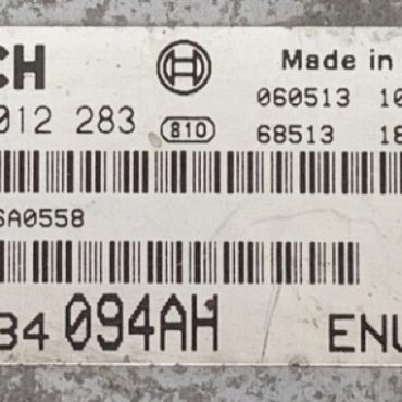 Chrysler PT Cruiser 2.2 CRD, 0281012283, 0 281 012 283, P05034094AH, P05034 094AH
