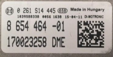 BMW, 0261S14445, 0 261 S14 445, 8654464, 8 654 464