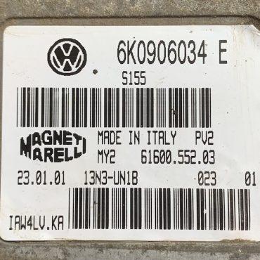 VW, 6K0906034E, 6K0 906 034 E, 61600.552.03, IAW 4LV.KA